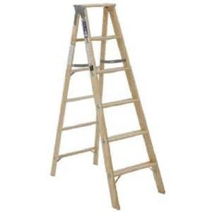 Ft step ladder wood type iii model bw336 true value