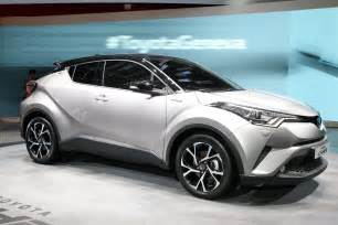 Toyota Hrv Toyota C Hr Production Hr V Rival Officially Unveiled