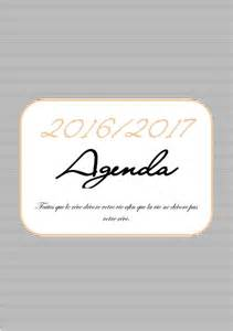 192 imprimer l agenda 2016 2017 en format a5 gratuit mon