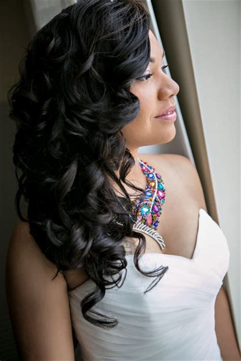 Black Wedding Hairstyles Pin Up by 25 Best Ideas About Black Wedding Hairstyles On