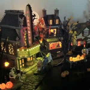 halloween village houses dept 56 halloween village halloween spookytown village
