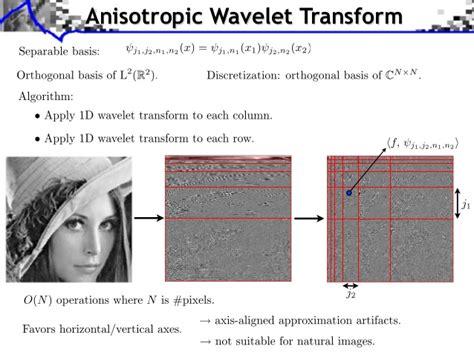 Waveletsignal Processing5 signal processing course wavelets