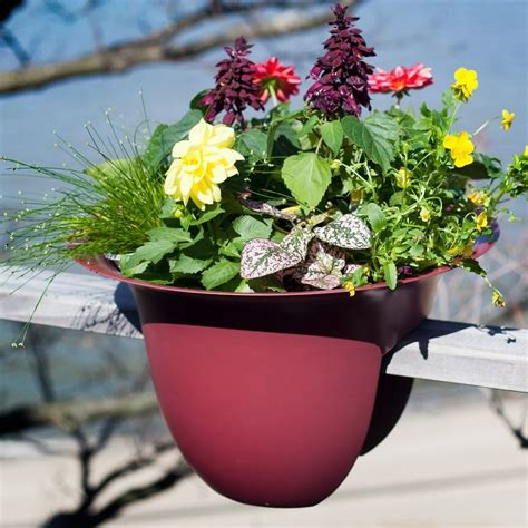 Greenbo Planter by Greenbo Railing Planter 187 Gadget Flow
