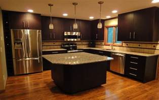 Kitchen Remodel Ideas With Oak Cabinets cabinets with wood floors kitchen floor and cabinet color