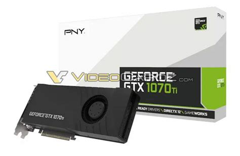 pny 1070 dual fan zotac and pny gtx 1070 ti graphics cards photos surface