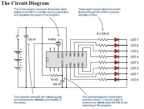 led light chaser circuit diagram 12v led chaser circuit diagram circuit and schematics