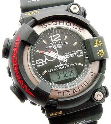 G Shock Dw 8200 B M reloj casio g shock frogman titanium