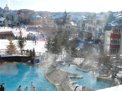 Fireplace Hotel by View From Our Room Picture Of Fairmont Tremblant Mont