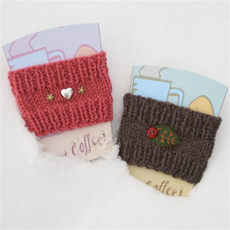 knitting pattern for cup cozy picture of how to knit a coffee cup sleeve