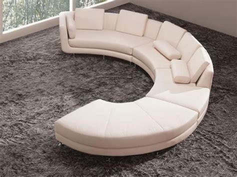 circular sofa bed a94 white leather semi circle s shape sectional