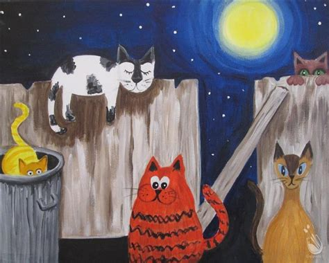 paint with a twist greenville tx open to alley cats friday september 23 2016