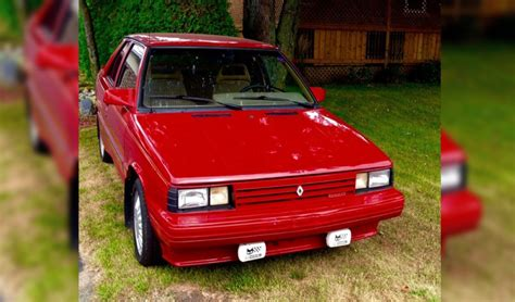 renault alliance 1987 last gasp 1987 renault alliance gta