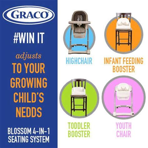 Graco Giveaway - graco blossom seating system giveaway