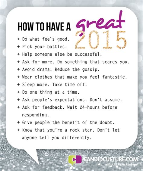 goals for the new year have the best year of your life