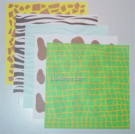 printable animal print origami paper animal print washi origami paper