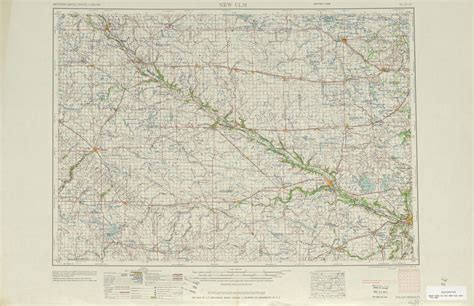 new ulm texas map new ulm topographic map sheet united states 1953 size
