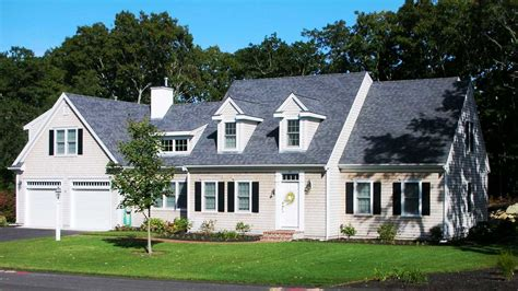cape cod style house plans with garage with wall