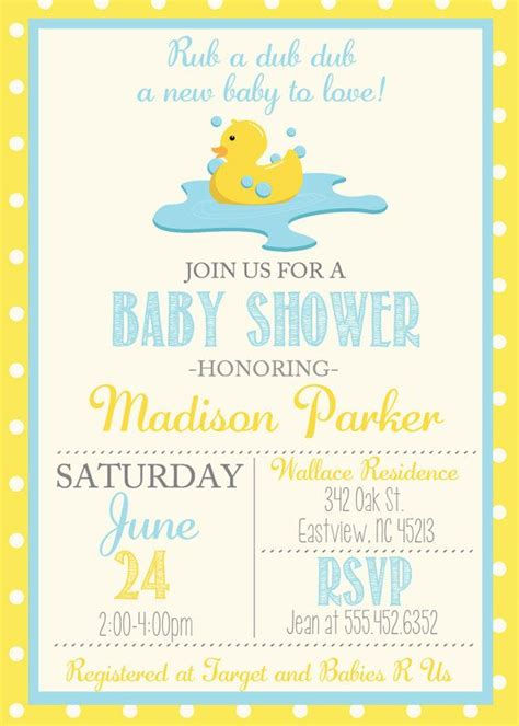 Rubber Ducks For Baby Shower by 25 Best Ideas About Baby Shower Duck On