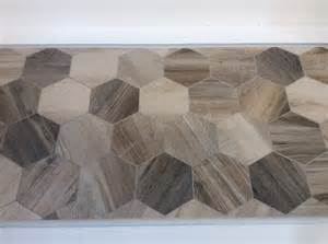 Floor Tiles That Look Like Wood hexagon tile trends from coverings 2014 the toa blog