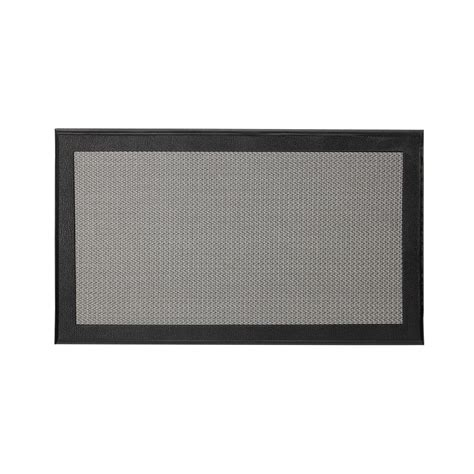 Ex Mat by Ex Cell Resilience Black 20 In X 34 In Poly Urethane