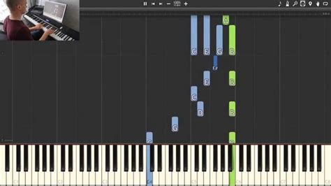 tutorial zanarkand piano final fantasy to zanarkand synthesia piano tutorial