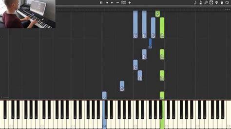 tutorial piano final fantasy final fantasy to zanarkand synthesia piano tutorial