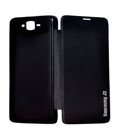 Best Leather N Cover Flipsamsung Galaxy J1 J2 J3 J5 J7 2015 Flip rolltone flip cover for samsung galaxy j2 black buy