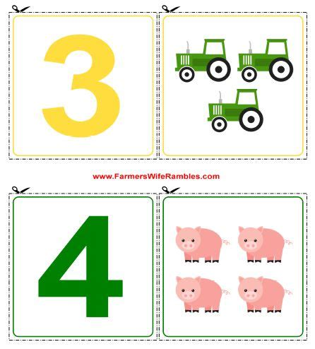 printable animal number cards 0 9 free printable counting cutouts