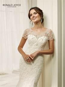 ronald joyce 69216 hadara fit and flare lace wedding dress