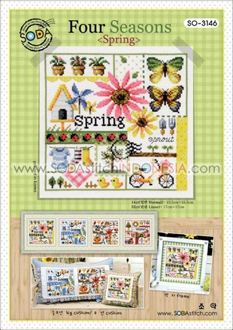 225 best cross stitch 4 seasons images on