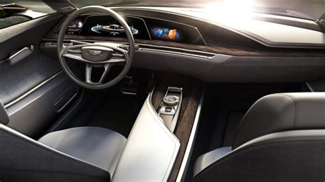 cadillac escala concept car  super bright oled