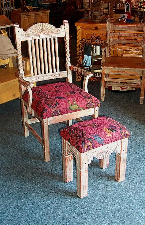 southwestern accent chairs southwestern accent furniture curio cabinets benches tables
