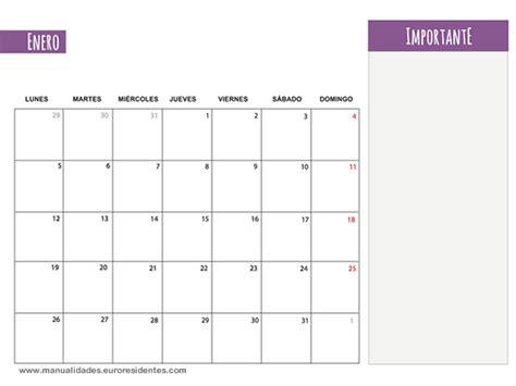 Calendario Semanal 2015 Calendario Enero 2015 Calendarios Mensuales 2015 Para