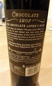 chocolate wine review the chocolate shop chocolate lover s wine review