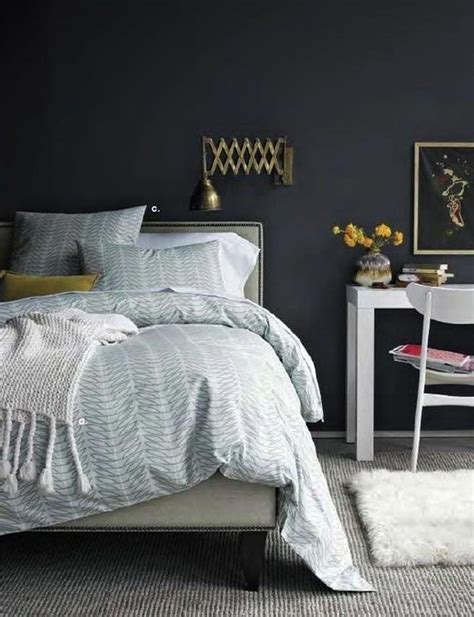 dark grey walls in bedroom dark and surprisingly soothing bedroom walls
