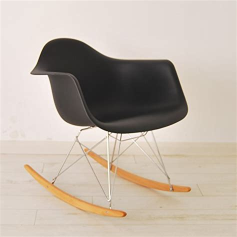 retro rocker chair hnnhome eames inspired rar lounge retro rocker rocking