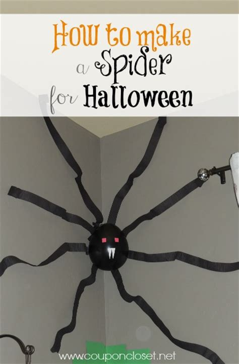 How To Make A Paper Spider - how to make a spider for one
