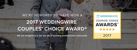 Weddingwire Awards by True Photography Honored For Excellence With 2017