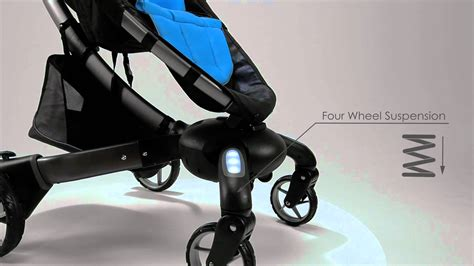 Origami 4moms Stroller - meet the 4moms origami