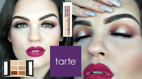 makeup tutorial tarte one brand makeup tutorial tarte cosmetics youtube