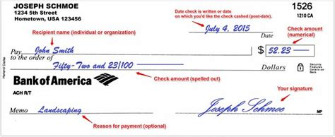 exle of written check how to write a check sapling