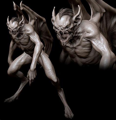 vampire hellboy creature