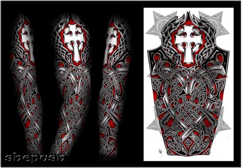 celtic and bali inspired sleeve by meatshop tattoo on 19 best viking inspired tatoo ideas images on pinterest