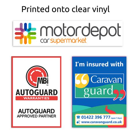 printable glass stickers automotive window stickers printed car stickers