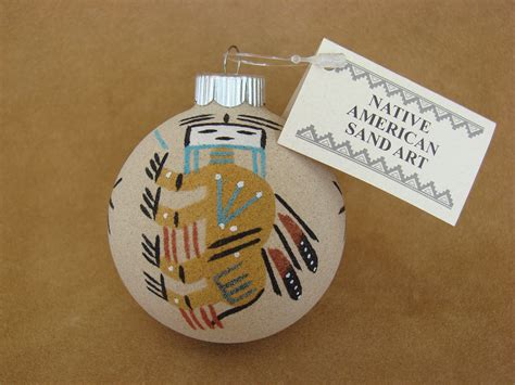 navajomade sand ornaments american sandpainting ornament handmade co42 treasures of new mexico