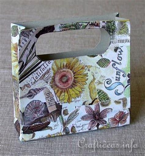 Decoupage With Newspaper Clippings - free paper craft ideas recycling craft for cardboard