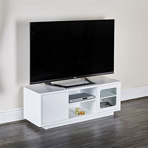 new modern white black tv unit cabinet entertainment stand