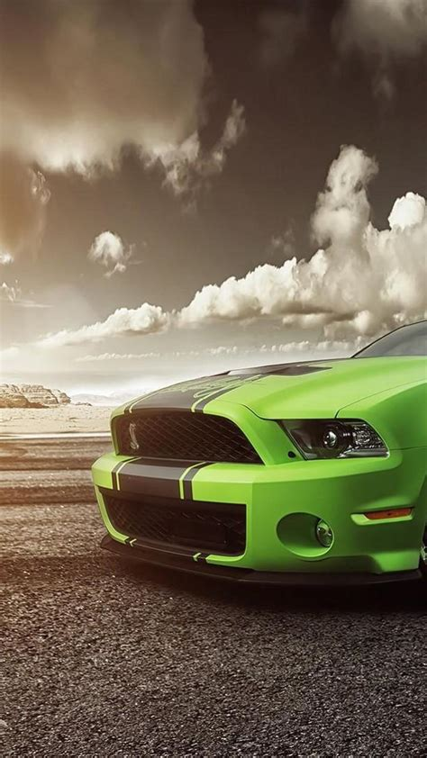 mustang wallpaper hd iphone shelby gt car green cars ford mustang hd wallpapers