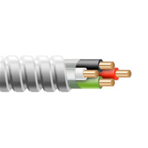 10 3 mc cable stranded 10 3c w ground mc cable wireandcableyourway