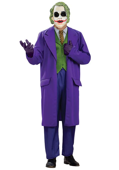 joker costume plus size deluxe joker costume
